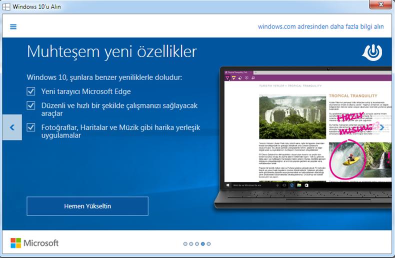 windows-10-ozellikler