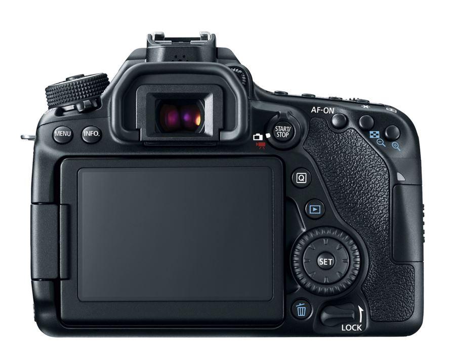 Canon EOS 80D DSLR kamera ekranı LCD