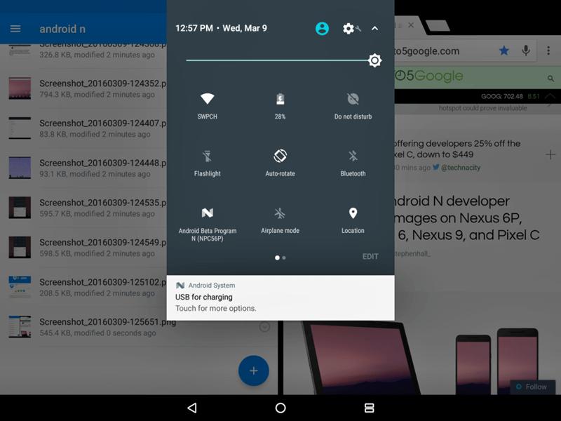 android-n-bildirim-ekrani