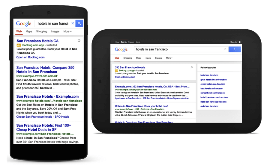 google-mobil-arama