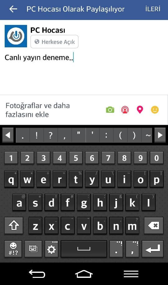 facebook-canli-yayin-acma