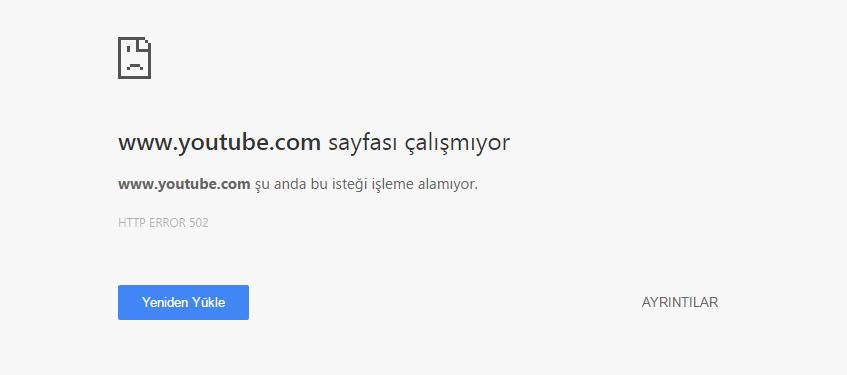 YouTube-Hata