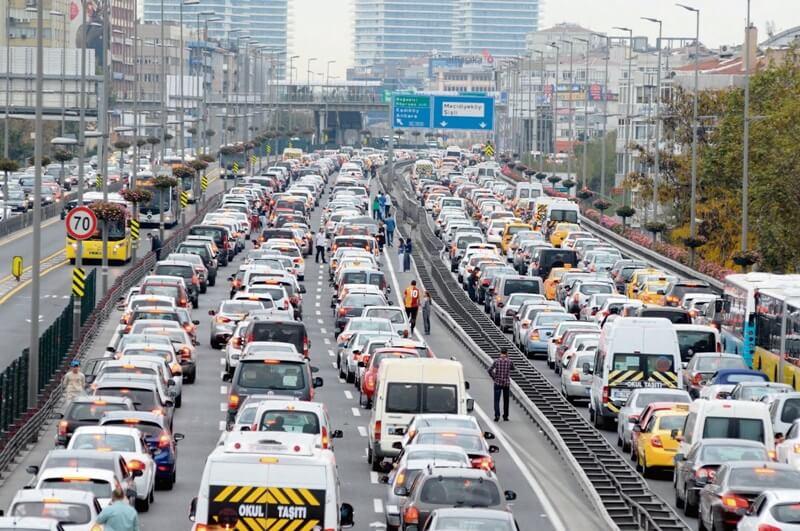 istanbul-trafik-sorunu