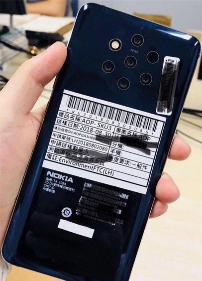 Nokia'nın yeni çıkaracağı olan akıllı telefonundabeş tane kameraolması iddia ediliyor. Sızan bir fotoğrafta arka yüzeyine beş tane kamera bir tanede flash görünüyor. | Sungurlu Haber