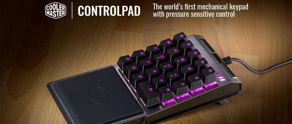Cooler Master'dan Dünyanın İlk Analog ControlPad