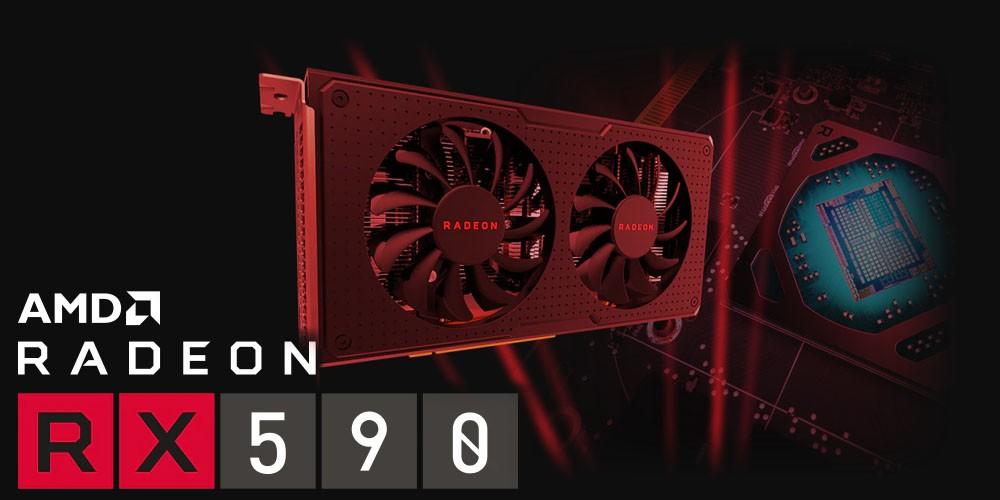AMD Radeon RX 590 Ekran Kartını Piyasaya Sürdü