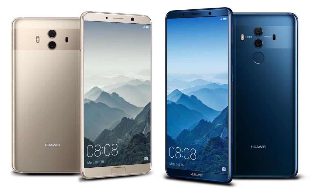 Huawei Mate 10 ve Honor V10 EMUI 10