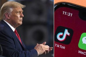 Trump, TikTok