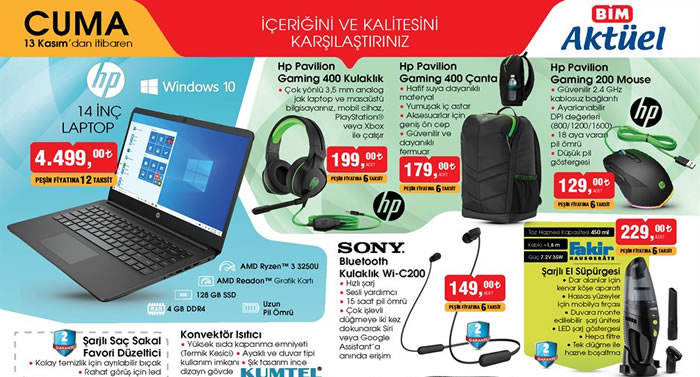 BİM HP Laptop