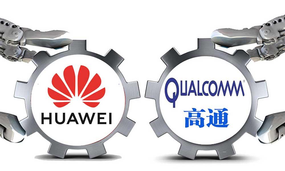 Qualcomm ile Huawei