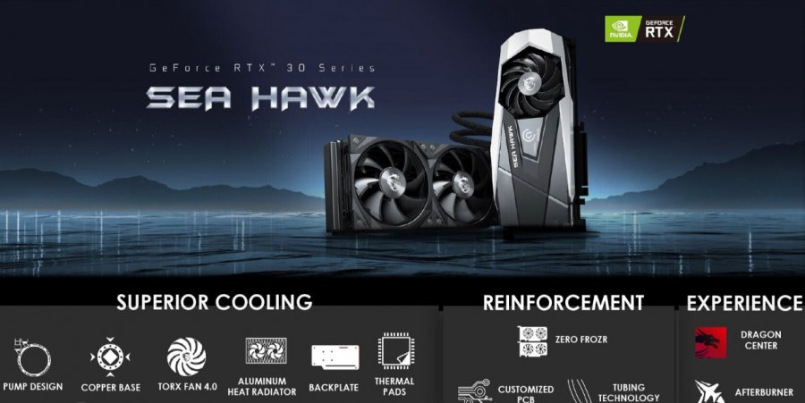 MSI RTX 30 Sea Hawk
