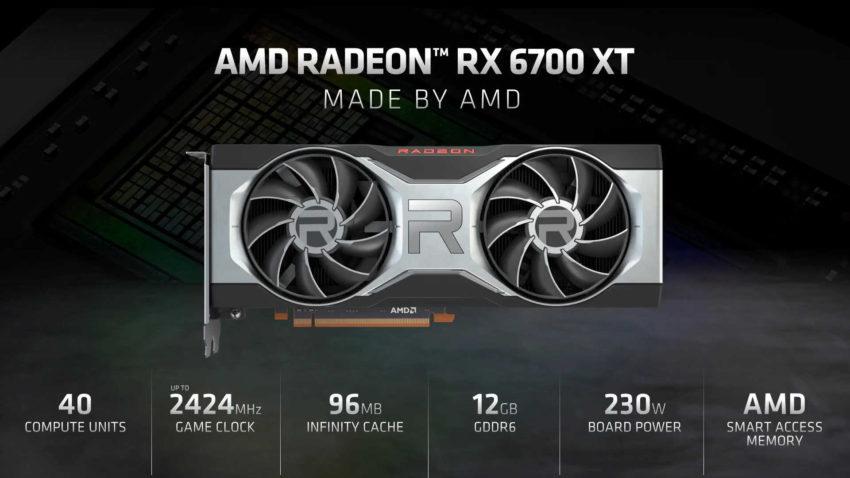 AMD RX 6700XT