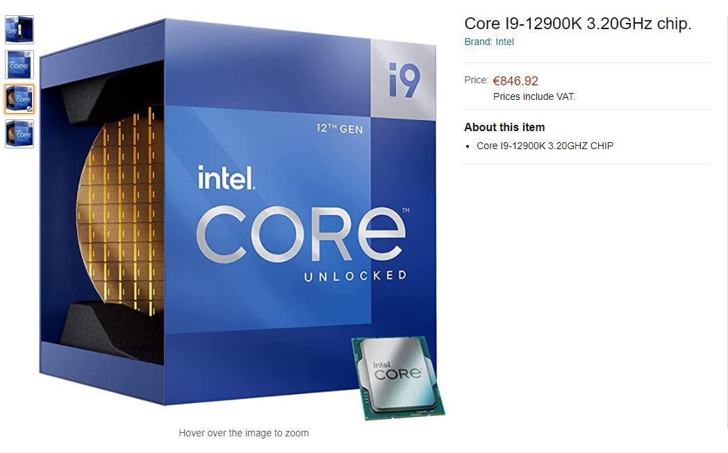 Intel Core i9-12900K